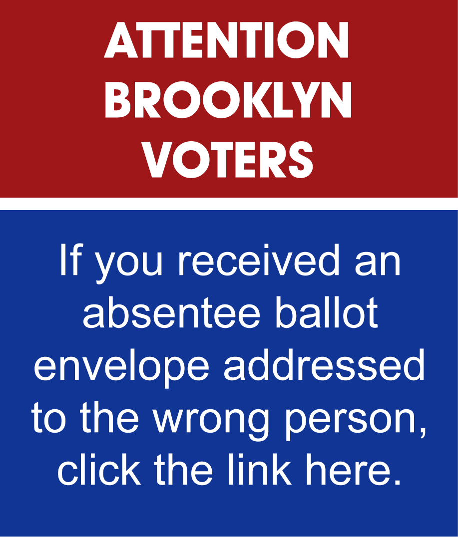 Attention Brooklyn Voters