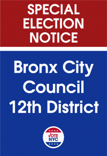 Bronx City Council 12th District