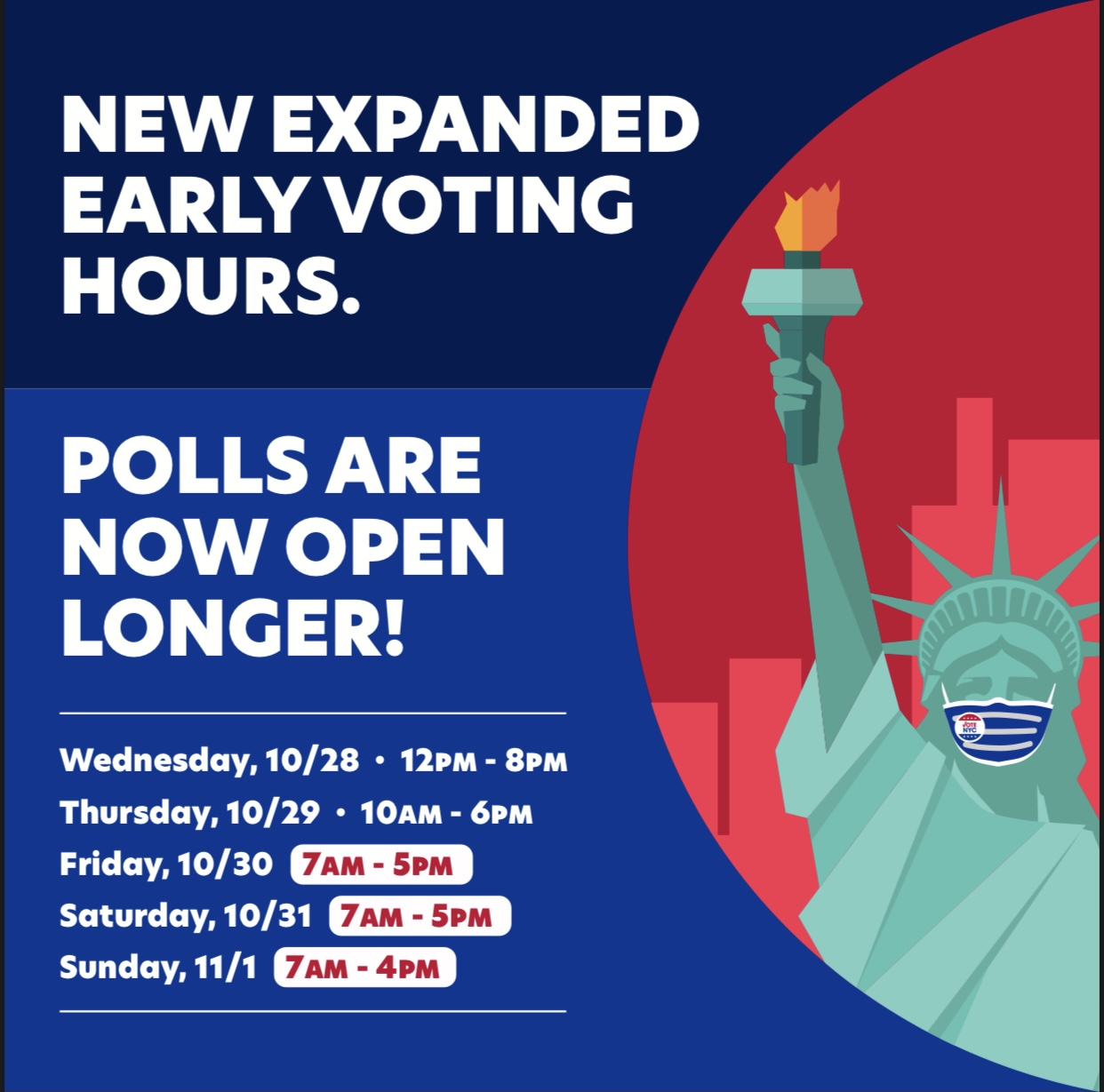 Expanded Voting Hours